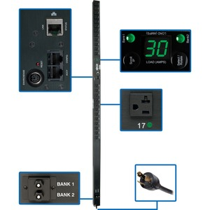 Tripp Lite PDUMV30NET PDU Switched 120V 30A 24 Outlet