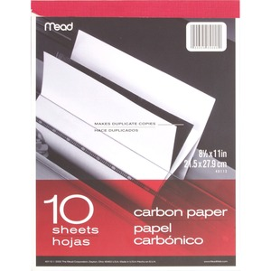Mead Carbon Paper Tablet MEA40112