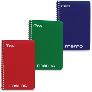 MeadWestvaco Open Side Memo Notebook MEA45644