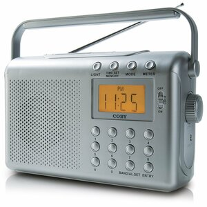 Coby CX-789 Digital AM/FM/NOAA Radio