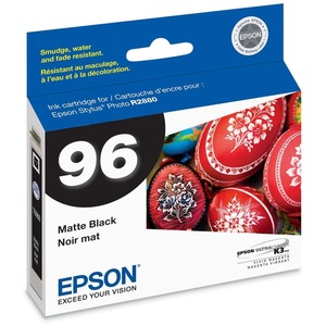 Epson No. 96 Matte Black Ink Cartridge EPST096820