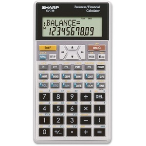 Sharp Financial Calculator SHREL738C