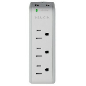 Belkin USB Charging 5-Outlets Mini Surge Suppressor
