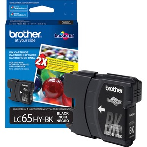 Brother High Yield Black Ink Cartridge BRTLC65HYBK