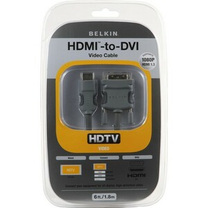 Belkin HDMI Interface to DVI Video Cable