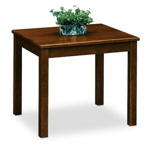 "HON 5190 Series Corner Table - Square - 24"" x 24"" x 20"" - Wood - Mahogany Top"