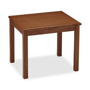 "HON 5190 Series End Table - Rectangle - 20"" x 24"" x 20"" - Wood - Mahogany"