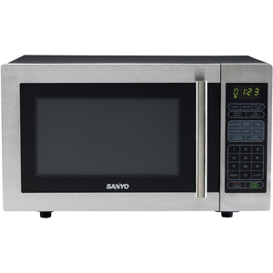 Microwave Ovens - Stainless Steel, Black  White Microwave Oven