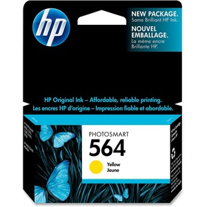 HP 564 Yellow Ink Cartridge CB320WC#140