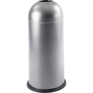 Safco Open Top Dome Waste Receptacle SAF9676NC