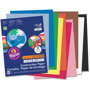 Riverside Groundwood Construction Paper PAC103637