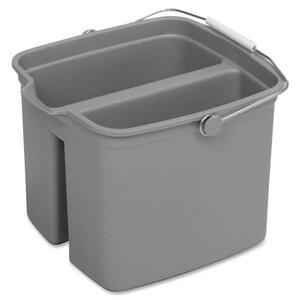 8216 Huskee Divided Plastic Pail