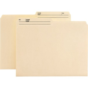 Reversible File Folder with Antimicrobial Production Protection