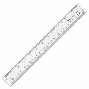 Office Desk Acrylic Ruler
