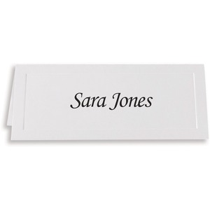 Overtures Embossed Traditional Place Card
