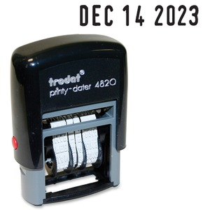 Printy 4820 Self Inking Dater Stamp