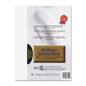 Cotton Resume Bond Paper