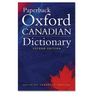 Paperback Oxford Canadian Dictionary Second Edition