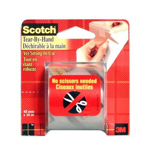 Scotch Tear-By-Hand Packaging Tape