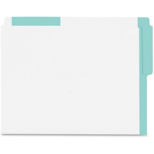 Color Coded Top End-Tab File Folder