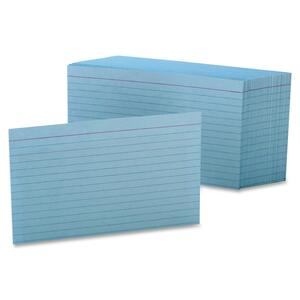 Horizontal Ruled Index Card Commercial Pack