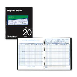 Twenty Employees Payroll Book
