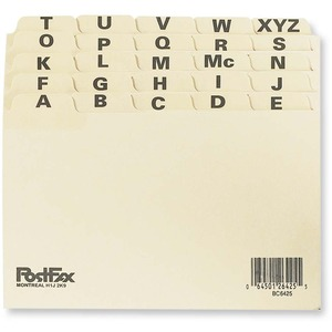 Index Card File Guide