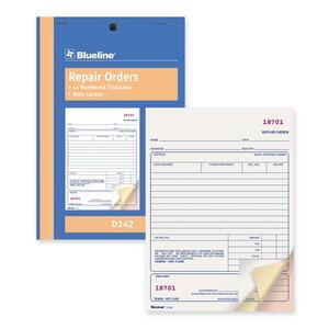 Bilingual Repair Order Form