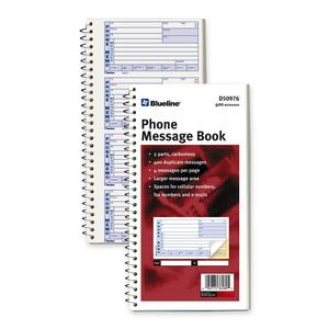 D50976 NCR Telephone Message Book