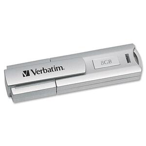 Verbatim 8GB Store 'n' Go Corporate Secure 96714 USB 2.0 Flash Drive VER96714