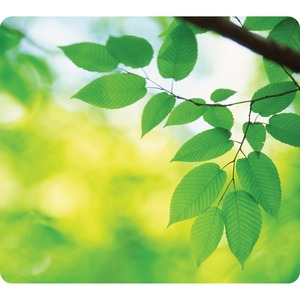Fellowes Recycled Mouse Pad - Leaves - TAA Compliant FEL5903801