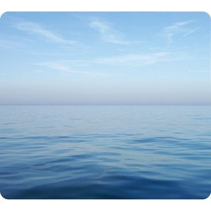 Fellowes Recycled Mouse Pad - Blue Ocean - TAA Compliant FEL5903901