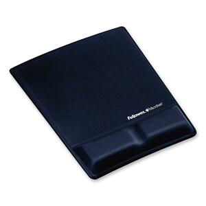 Fellowes Mouse Pad / Wrist Support with Microban Protection FEL9183901