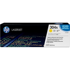 HP 304A Yellow Original LaserJet Toner Cartridge HEWCC532A