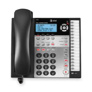 Image for At&t Corp At&t 1080 4-line Expandable Corded Small Business Telephone With Digital Answering System - 4 X Phone Line