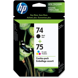 HP 74/75 Twin-Pack Ink Cartridge CC659FC#140