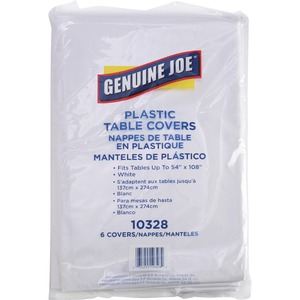 Genuine Joe Rectangular Table Cover GJO10328