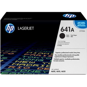 HP 641A Black Original LaserJet Toner Cartridge HEWC9720A