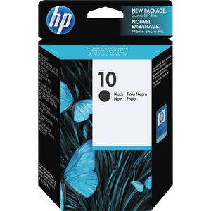 HP No. 10 Black Ink Cartridge - Inkjet - 1430 Page - Black - 1