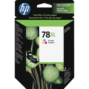 HP No. 78 Tri-color Ink Cartridge - Inkjet - 970 Page - Cyan, Magenta, Yellow - 1
