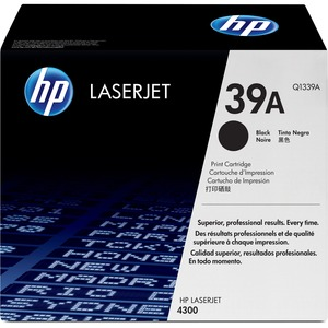 HP Black Toner Cartridge - Laser - 18000 Page - Black - 1