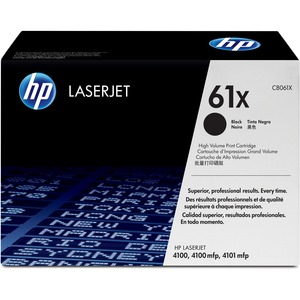 HP 61X High Yield Black Original LaserJet Toner Cartridge HEWC8061X