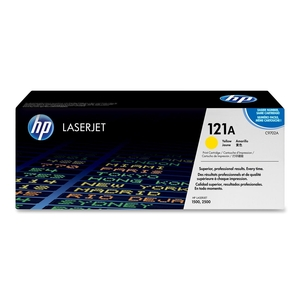 HP 121A Yellow Original LaserJet Toner Cartridge HEWC9702A
