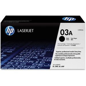 HP 03A Black Original LaserJet Toner Cartridge HEWC3903A