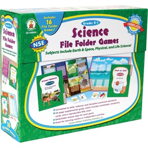 Carson-Dellosa Science File Folder Game CDP140044