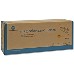 Konica Minolta Yellow Toner Cartridge QMS1710471002