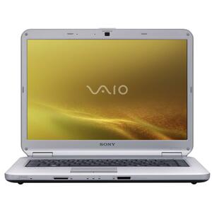 Sony VAIO VGN-NS140DS Core 2 T5800 GM45 3GB 250GB 15.4IN WXGA Vista Premium Granite Silver Notebook