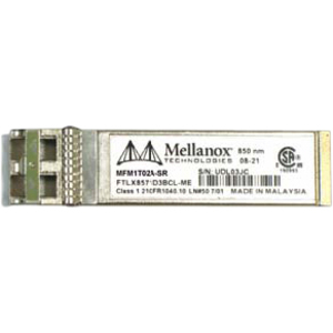 MELLANOX SFP+ OPTICAL MODULE FOR 10GBASE-SR TRANSCEIVER