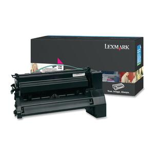 Lexmark XL Extra High Yield Return Program XL Magenta Toner Cartridge LEXC782U1MG