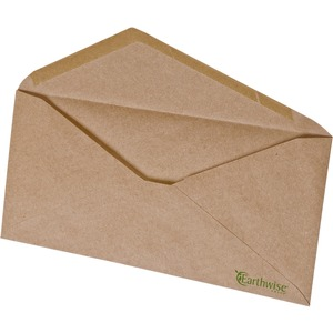 Earthwise No. 10 Brown Kraft Envelopes